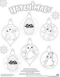 Print Hatchy Hatchimals Penguala Draggles Coloring Pages