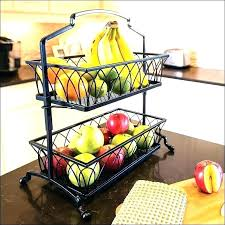 kitchen fruit basket wire