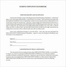 Free Employees Handbook Free Employee Handbook Template Pdf Beautiful Sample Employee