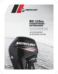 outboards 2 mercury 80 through 115 efi fourstroke controls rigging remote controls and throttle shift cables msc 4000 side mount gen i t s cables w