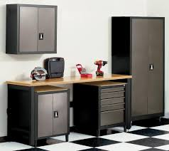 Strong Hold Cabinets Storage Wall Mounted Garage Storage System Made From Metal For