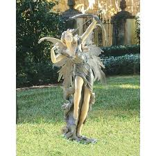 dragon garden statues. Stone Statues For Garden Fairy Figurines Dragon Uk