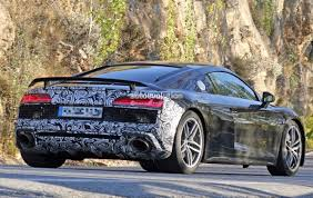 Spyshots: 2019 Audi R8 GT Flaunts Two Huge Oval Exhaust Pipes ...