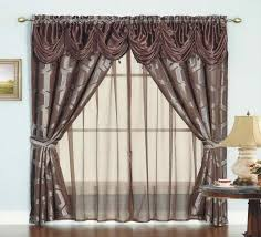 living room curtains with valance. Chic Design Curtains With Valance For Living Room Decor I