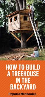 Simple Tree Houses To Build For Kids Simple Tree Houses To Build