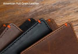 thin leather wallet for men