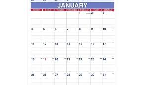 Month At A Glance Calendar Template Year At A Glance Calendar Template New Blank Throughout Week Excel
