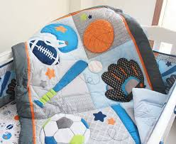 sports crib bedding sets boy