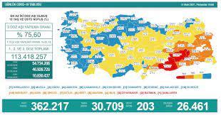 Türkiye'de koronavirüs nedeniyle son 24 saatte 203 kişi hayatını kaybetti,  tespit edilen vaka sayısı 30 bin 709 oldu | Polit
