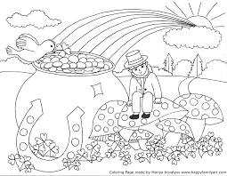 Small Picture St Patrick Day Coloring Pages itgodme