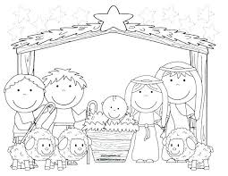Nativity Coloring Pages To Print Klubfogyas