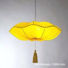 fabric pendant lights whole lotus lamp lantern marine fabric lotus pendant light silver lotus pendant light