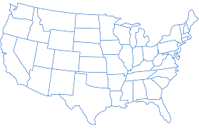 Small Picture Map Of The United States With State Names Map Of The United