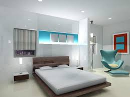 wings light blue lounge chairs for bedroom combined with gloosy floating bedding also white shade tabulat table lamp on small nightstand