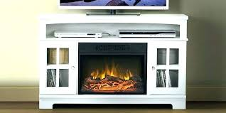 contemporary fireplace tv stand electric console pacer 64 with soundbar white