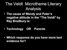 the veldt by ray bradbury ppt the veldt microtheme literary analysis