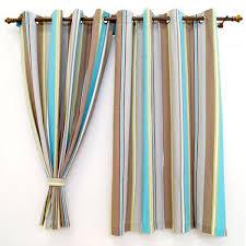 curtain window curtains multi stripes multi color window curtains