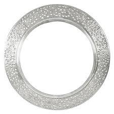 mirror frame. Perfect Mirror Kashmiri Cutwork Round Mirror Frame Intended H