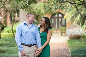 bok tower gardens engagement corner house photography
