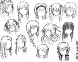 Speed Hair Styles For Girls Drawings To Draw Cute Ing Easy And Anime