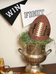 diy projects for the sports fan stress free football party crafts and diy ideas