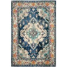contemporary blue brown area rugs navy light 8 ft x rug the home depot compressed