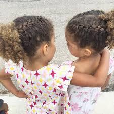Biracial Hair Mixed Children Natural Curls Braids French Braids