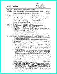 Sample Computer Programmer Resume Programming Resume Examples Resume Samples Programmer Resume