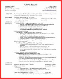 Greenhouse Resume Examples example great resume good resume format 10