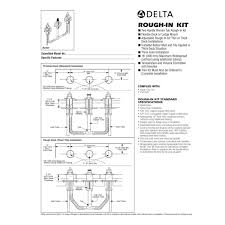 delta single handle shower faucet repair diagram inspirational delta bathtub spout installation delta faucet cartridge faucet