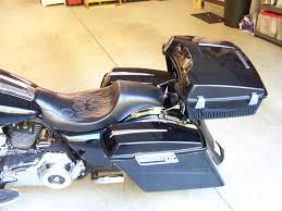 aftermarket chopped tour pack by power products parts harley