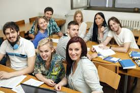 Image result for pictures of college students in class