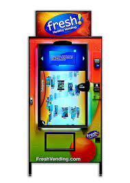 Fresh Vending Machines Impressive Fresh Healthy Vending Intelligent Touch Screen Machines Fresh
