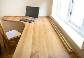 oak desks for home office. curved home office desk in solid oak desks for