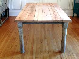 unfinished wood table tops stirring reclaimed dining top oak rustic decorating ideas 9