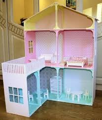 wooden barbie dollhouse furniture. Barbie Dollhouse Furniture Hand Made Plywood With Wooden Dollhouses Wood .