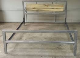 denver colorado industrial furniture modern king. modern industrial bed frame accented with colorado by jevworks 75000 denver furniture king r