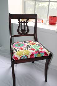 kitchen chair upholstery fabric design ideas