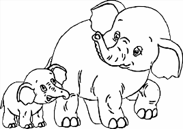 Small Picture Free Printable Elephant Coloring Pages For Kids Free Elephant