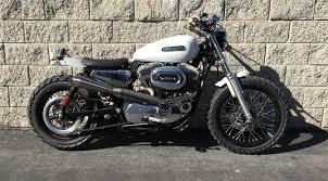 2006 harley sportster scrambler moto chop shop