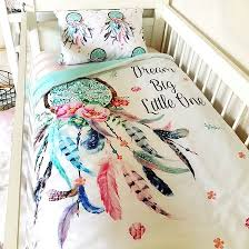 Dream Catcher Baby Bedding Cot Quilt Dream Catcher cotton nursery linen baby bedding www 3