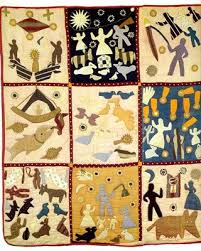 Detail of second Bible Quilt by Harriet Powers (Athens, Georgia ... & Detail of second Bible Quilt by Harriet Powers (Athens, Georgia, ca. 1886 Adamdwight.com