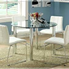 Round glass tables and chairs White Leather Chair Ikea Glass Top Dining Table Chair Dining Sets Up To Seats Glass Ikea Round Glass Home Interior Designs Ikea Round Glass Top Dining Tables Home Interior Designs