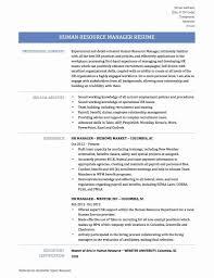 Taleo Resume Template New Human Resource Resume Templates Unique