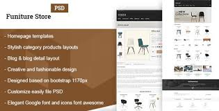 Simple Website Template Inspiration Simple Shop Website Templates From ThemeForest