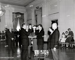 nixon office. William Knowland Administers The Oath Of Office To Vice President-elect Richard Nixon. Private Swearing In Ceremony Took Place East Room Nixon N