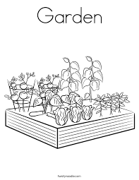 All the flowers coloring pages here is printable. Garden Coloring Page Images For Kids Coloring Home