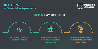 What Credit Cards To Pay Off First 10 Steps To Financial Independence Step 4 Pocketguard