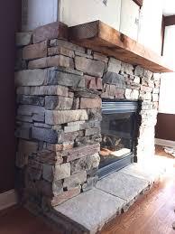 wonderful how to stone veneer fireplace top ideas
