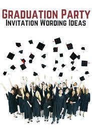 Graduation Party Announcement Graduation Party Invitations Ideas Personalized Graduation Printable